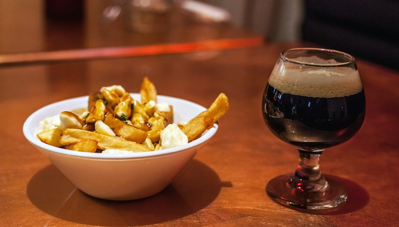 The Montreal Bachelor Party Craft Beer Tour beer poutine