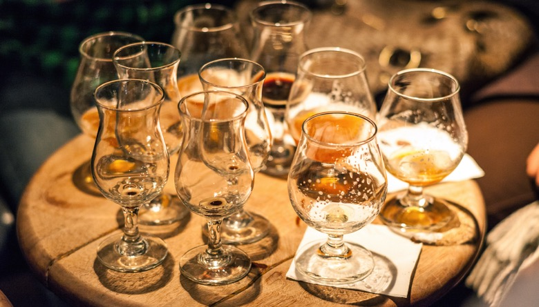 The Montreal Bachelor Party Craft Beer Tour beer samples
