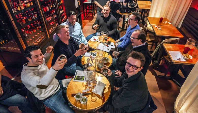 The Montreal Bachelor Party Craft Beer Tour brewpub