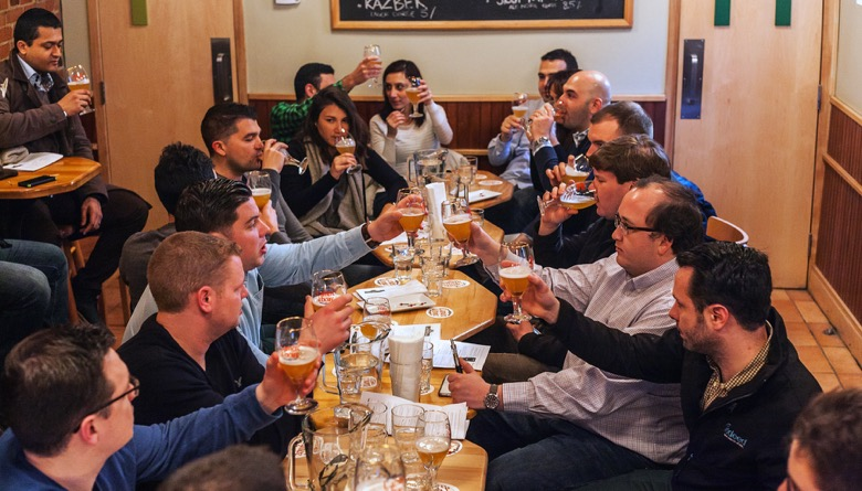The Montreal Bachelor Party Craft Beer Tour lager
