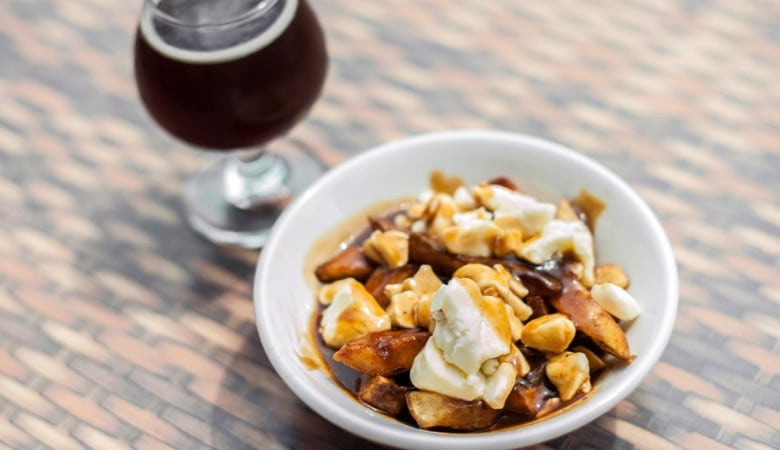 Montreal craft beer tour poutine