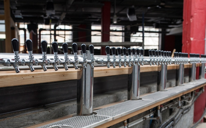 taps at mabrasserie - best brewpubs in montreal